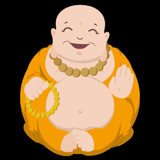 luckycharm app laughing buddha