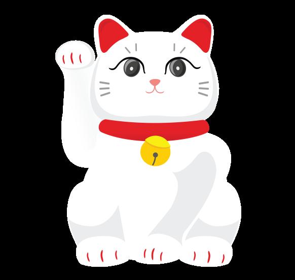 luckycharm app manekineko fortune cat